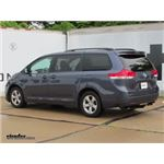 Trailer Hitch Installation - 2014 Toyota Sienna - Draw-Tite