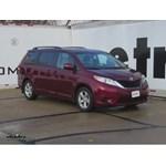 Trailer Hitch Installation - 2014 Toyota Sienna - Curt