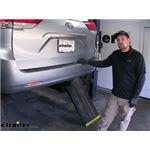 Curt Trailer Hitch Installation - 2014 Toyota Sienna