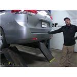 etrailer.com Trailer Hitch Installation - 2014 Toyota Sienna