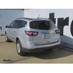 Trailer Hitch Installation - 2015 Chevrolet Traverse - Draw-Tite