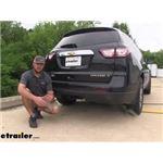 etrailer.com Trailer Hitch Installation - 2015 Chevrolet Traverse