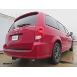 Trailer Hitch Installation - 2015 Dodge Grand Caravan - Curt