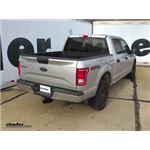 Trailer Hitch Installation - 2015 Ford F-150 - Curt