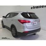 Trailer Hitch Installation - 2015 Hyundai Santa Fe - Draw-Tite