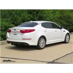 Trailer Hitch Installation - 2015 Kia Optima - Curt
