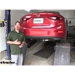 Draw-Tite Sportframe Trailer Hitch Installation - 2015 Mazda 3