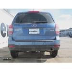 Trailer Hitch Installation - 2015 Subaru Forester - Draw-Tite