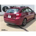 Trailer Hitch Installation - 2015 Subaru Impreza - Curt