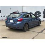 Trailer Hitch Installation - 2015 Subaru Impreza
