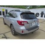 Trailer Hitch Installation - 2015 Subaru Outback Wagon - Draw-Tite