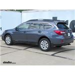 Trailer Hitch Installation - 2015 Subaru Outback Wagon - Curt