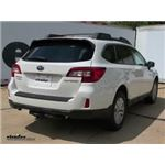 etrailer.com Trailer Hitch Installation - 2015 Subaru Outback Wagon