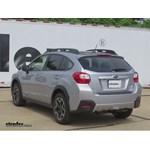 Trailer Hitch Installation - 2015 Subaru XV Crosstrek - Curt