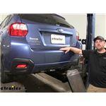 Draw-Tite Sportframe Trailer Hitch Installation - 2015 Subaru XV Crosstrek