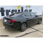 Draw-Tite Sportframe Trailer Hitch Installation - 2016 Acura TLX