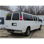 etrailer.com Trailer Hitch Installation - 2016 Chevrolet Express Van