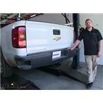 etrailer.com Trailer Hitch Installation - 2016 Chevrolet Silverado 1500