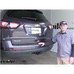 etrailer.com Trailer Hitch Installation - 2016 Chevrolet Traverse