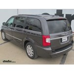 Trailer Hitch Installation - 2016 Chrysler Town and Country - Curt
