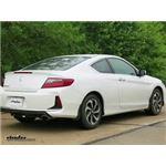 Trailer Hitch Installation - 2016 Honda Accord - Draw-Tite