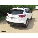 Curt Trailer Hitch Installation - 2016 Mazda CX-5