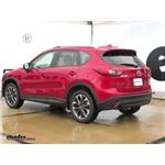 Trailer Hitch Installation - 2016 Mazda CX-5