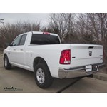 Trailer Hitch Installation - 2016 Ram 1500 - Curt