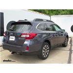 Trailer Hitch Installation - 2016 Subaru Outback Wagon - Draw-Tite