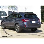 Draw-Tite Max-Frame Trailer Hitch Installation - 2016 Subaru Outback Wagon