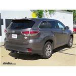 Trailer Hitch Installation - 2016 Toyota Highlander - Draw-Tite