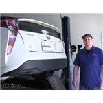 Draw-Tite Sportframe Trailer Hitch Installation - 2016 Toyota Prius