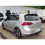 Trailer Hitch Installation - 2016 Volkswagen Golf - Curt