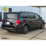 Trailer Hitch Installation - 2017 Dodge Grand Caravan - Curt