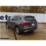 etrailer.com Trailer Hitch Installation - 2017 Honda Pilot