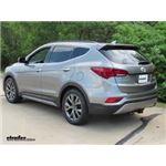 Trailer Hitch Installation - 2017 Hyundai Santa Fe - Draw-Tite