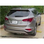 etrailer.com Trailer Hitch Installation - 2017 Hyundai Santa Fe