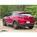 Draw-Tite Sportframe Trailer Hitch Installation - 2017 Mazda CX-3