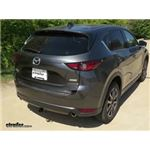 Trailer Hitch Installation - 2017 Mazda CX-5 - Draw-Tite