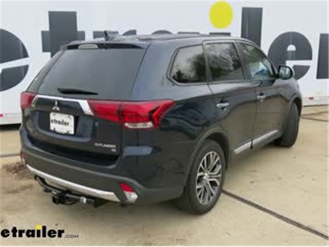 Draw-Tite Class III//IV Trailer Receiver Hitch for Mitsubishi Outlander