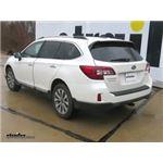 EcoHitch Hidden Trailer Hitch Installation - 2017 Subaru Outback Wagon