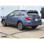 Trailer Hitch Installation - 2017 Subaru Outback Wagon - Draw-Tite