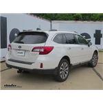 Draw-Tite Max-Frame Trailer Hitch Installation - 2017 Subaru Outback Wagon