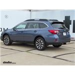 Trailer Hitch Installation - 2017 Subaru Outback Wagon - Curt