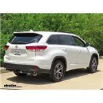 Trailer Hitch Installation - 2017 Toyota Highlander - Draw-Tite