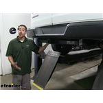 etrailer.com Trailer Hitch Installation - 2018 Chevrolet Express Van