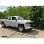 Trailer Hitch Installation - 2018 Chevrolet Silverado 1500 - Curt