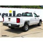 etrailer.com Trailer Hitch Installation - 2018 Chevrolet Silverado 1500