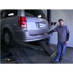 etrailer.com Trailer Hitch Installation - 2018 Dodge Grand Caravan