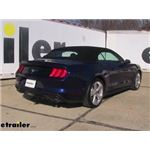 Draw-Tite Sportframe Trailer Hitch Installation - 2018 Ford Mustang
